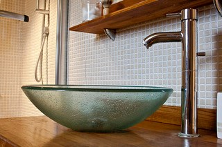 Designer Bathroom Fixture and Sink Basin