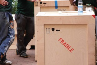 Fragile Moving Boxes