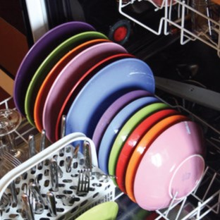 Organized Dishwasher